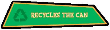 Read Jeremy Jackrabbit Recycles the Cans